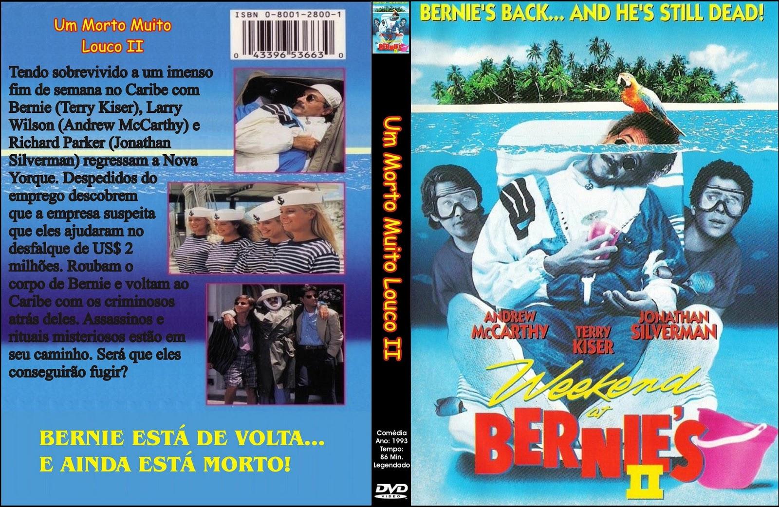 Capa DVD Um Morto Muito Louco 2
