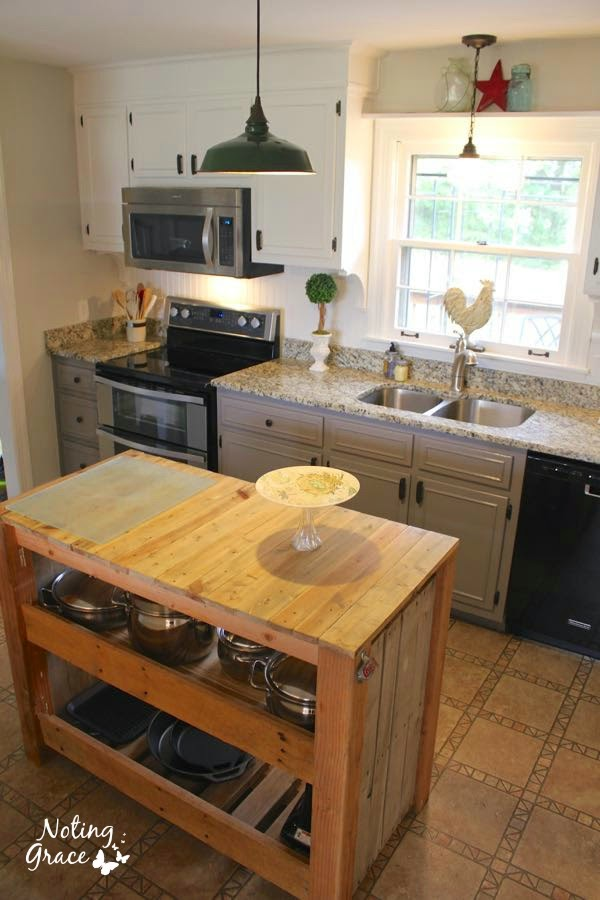 DIY Farmhouse Kitchen Remodel: Noting Grace