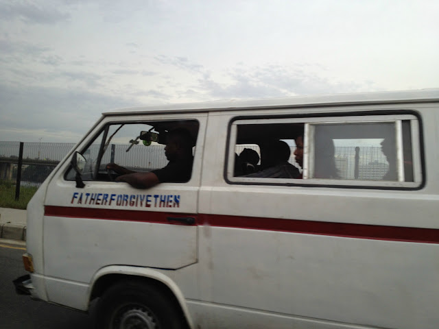 Church van in Lagos, Nigeria