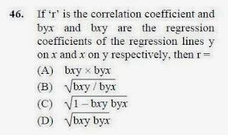 2013 June UGC NET in Economics, Paper II, Question 46