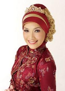 Kumpulan Model Jilbab untuk Kebaya
