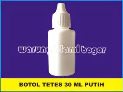 Jual Botol Tetes 30ml Putih Susu