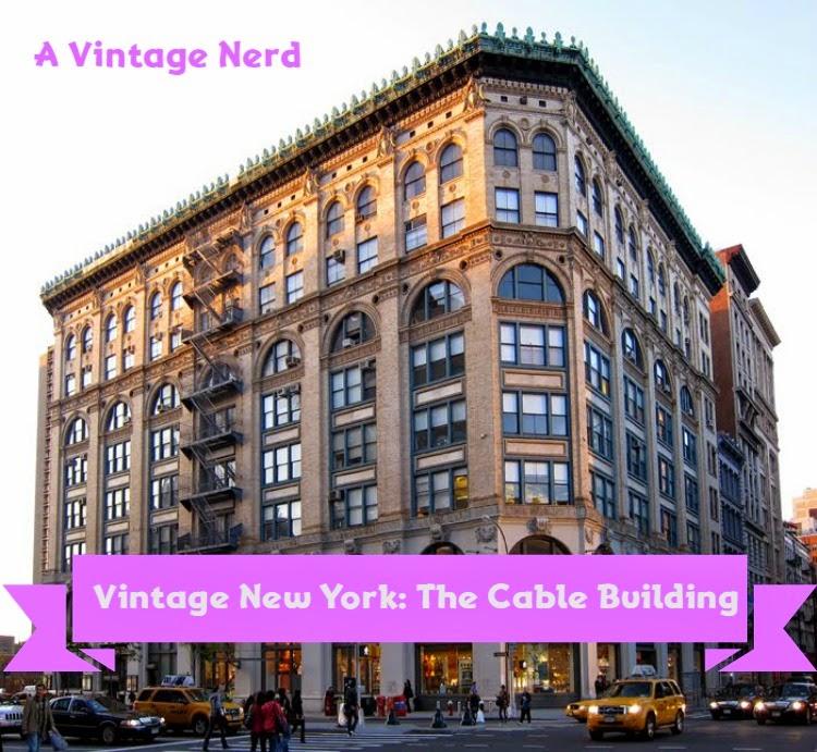 A Vintage Nerd, Vintage New York, Vintage Blog, Vintage Cable Building,