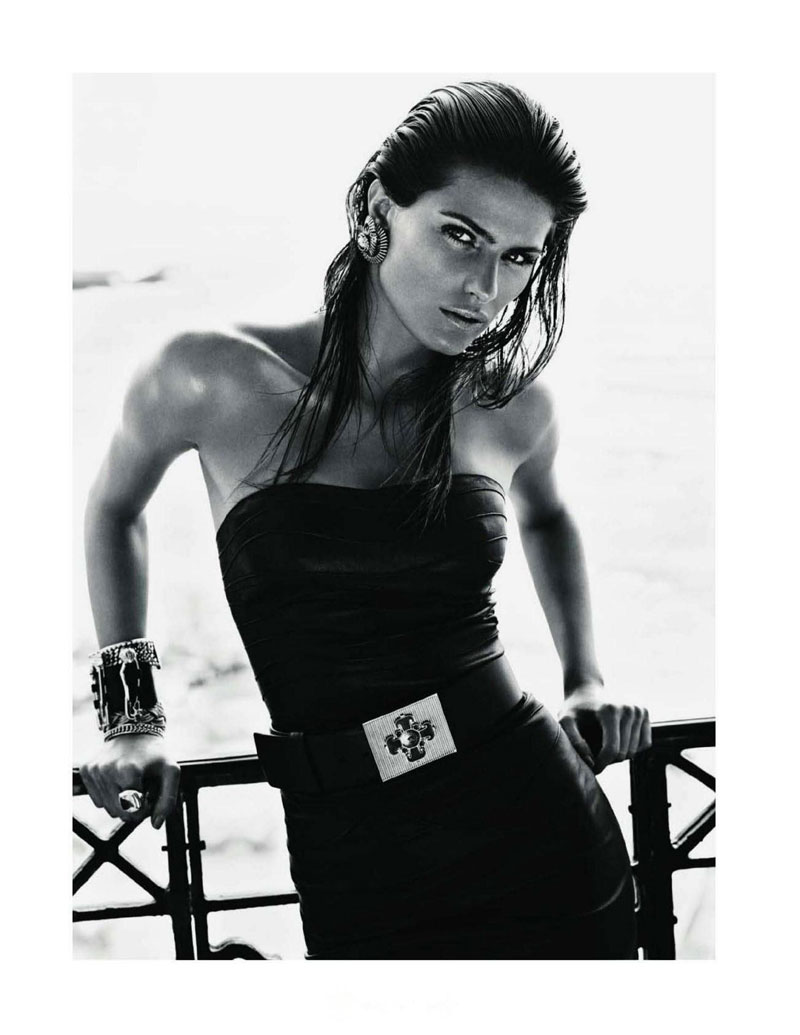 Fashionable Hairs Isabeli Fontana by Mario Sorrenti 08