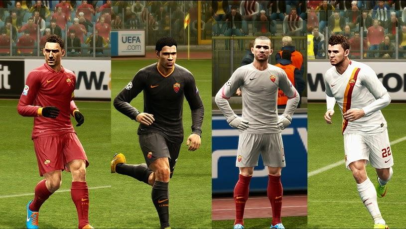 PES 2013 AS Roma 14-15 GDB by Vulcanzero