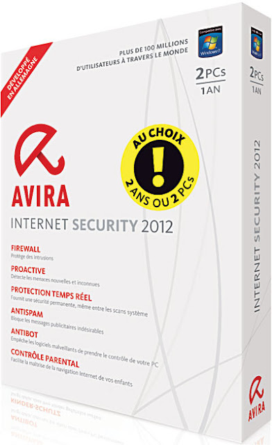 Download Gratis Avira Internet Security 2012  Final + Serial Number