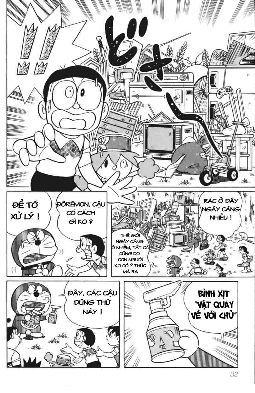 Truyện tranh Doraemon Dài Tập 25 - Nobita và truyền thuyết thần rừng trang 29