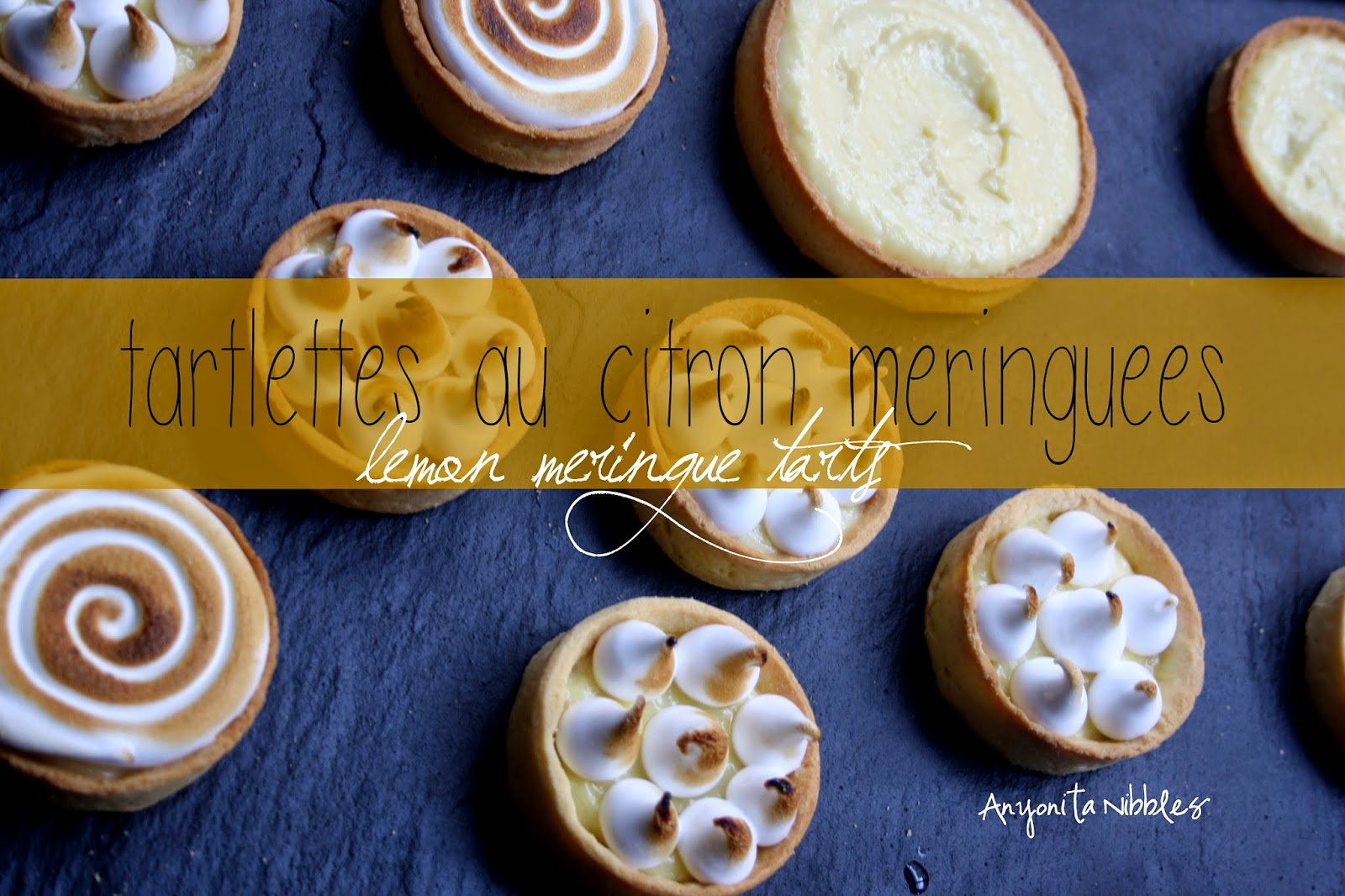 Lemon Meringue Tarts by Anyonita Nibbles