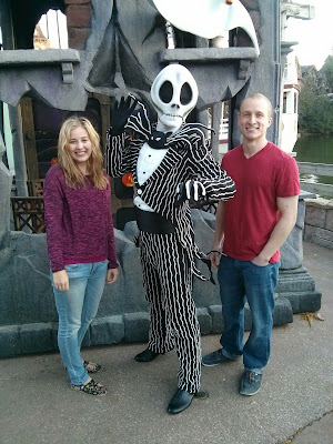 Disneyland Paris Meet Jack Skellington