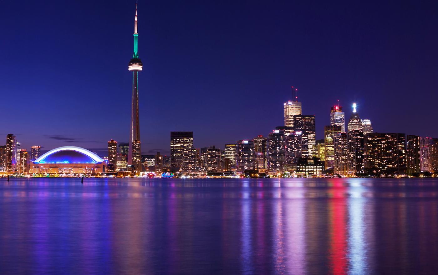 City of Toronto Canada Skyline