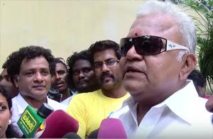 Actor Sarathkumar Files Nomination For Nadigar Sangam And Congratulates Actor Vijay