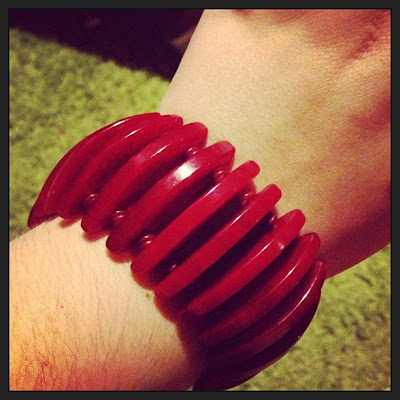 bakelite vintage bakelite bracelet stretch bracelet