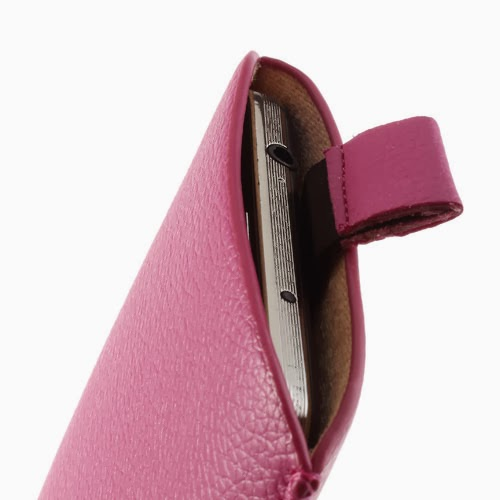 Universal 5 - 6 Inch Leather Pouch Case with Pull Tab for Samsung Galaxy Note 3 N9000 N7100, Size: 15.5 x 9cm - Pink