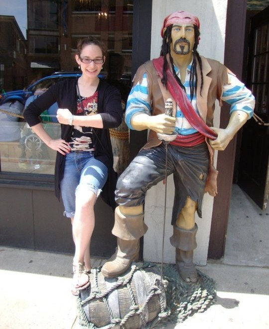 Yo ho, yo ho, a pirate's life ain't me.