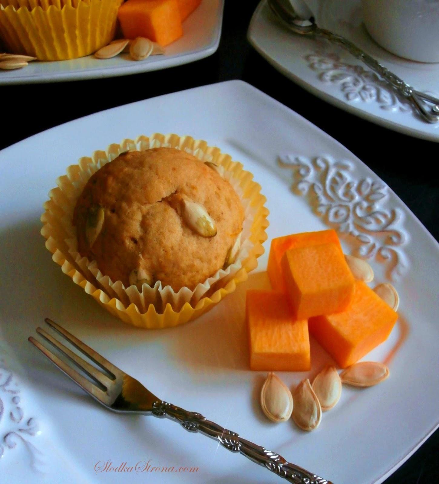 Muffinki Dyniowe - Przepis - Słodka Strona