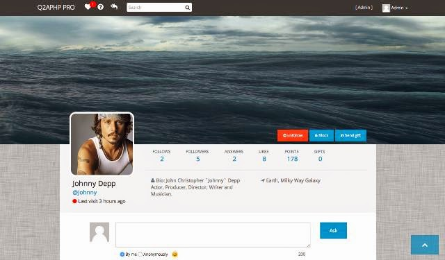 Q2APHP PRO - Q&A Social Network