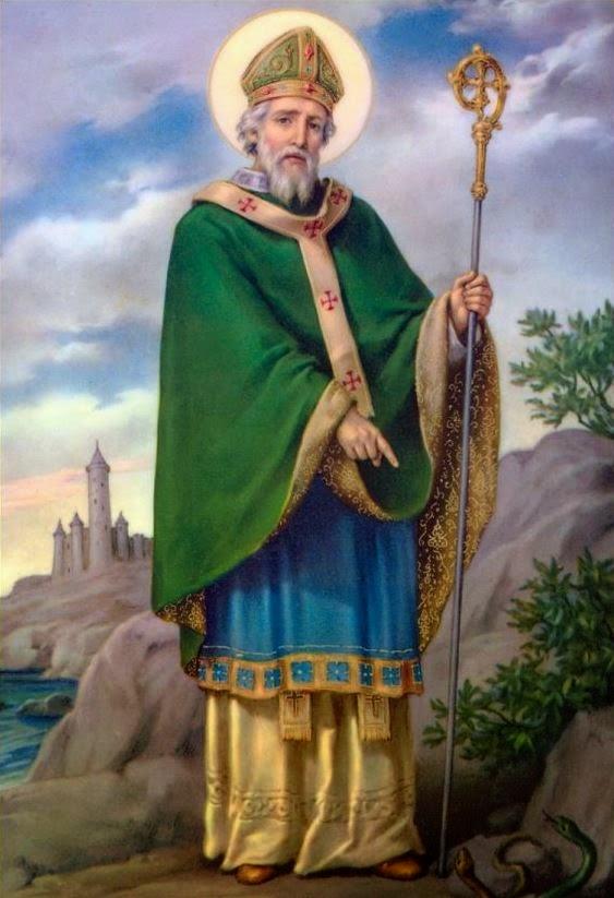 Miles christi san patricio obispo y ap stol de irlanda - Immagini st patrick a colori ...