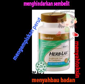 manfaat herblax shaklee