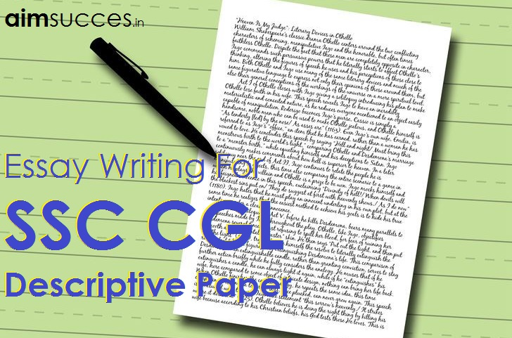 narrative and descriptive essay