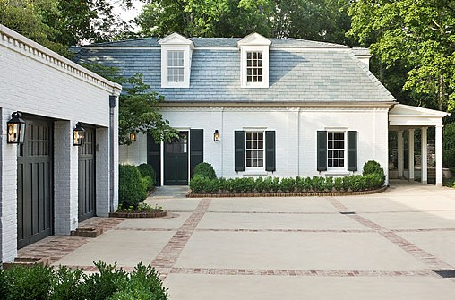 Beau But Then Again This Dark House With The White Trim, Is Very Pretty As Well.  A Girl Can Change Her Mind, Right?