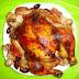 Receta de pollo asado para año nuevo