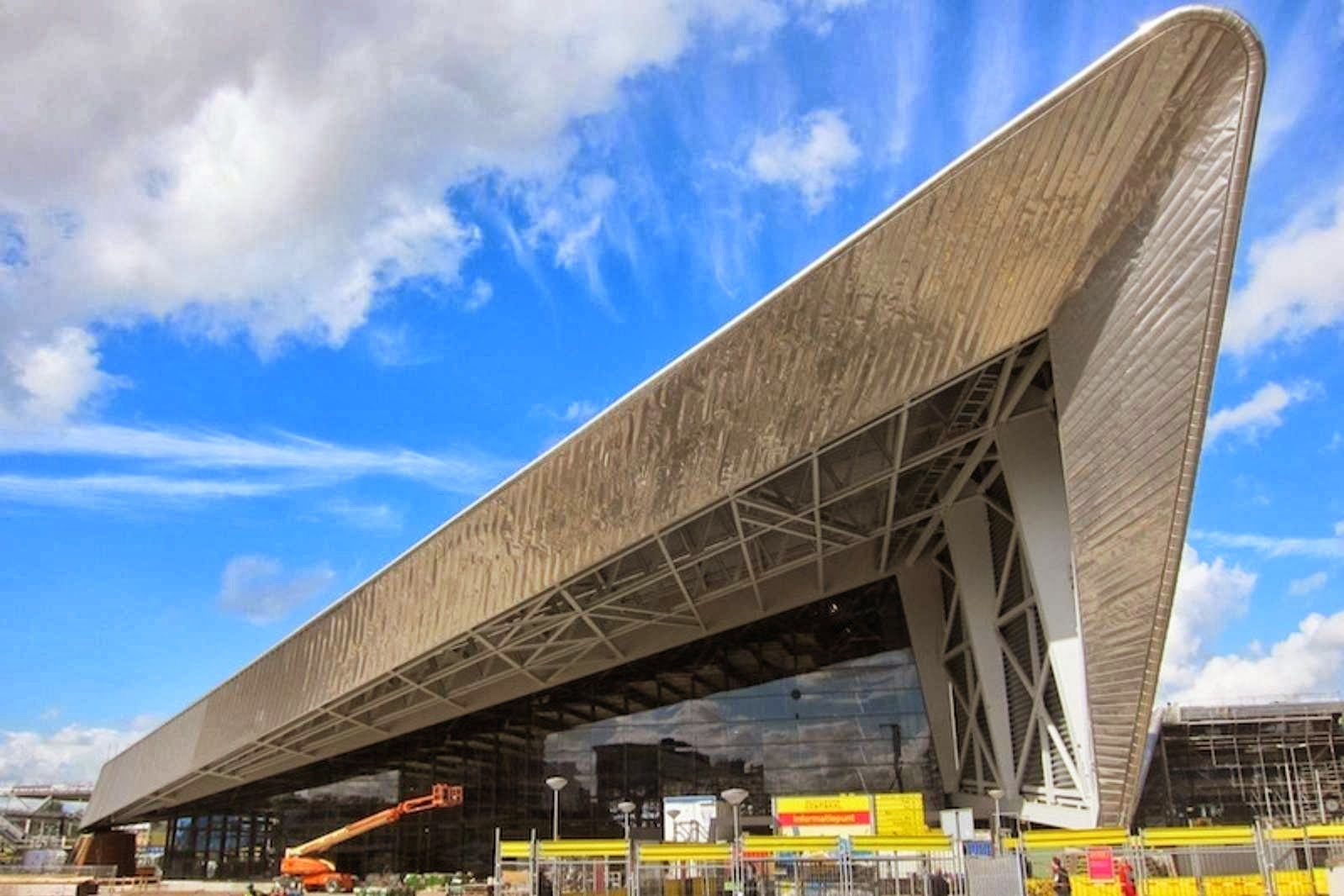 Architecture now and the future rotterdam central station for Architecture rotterdam