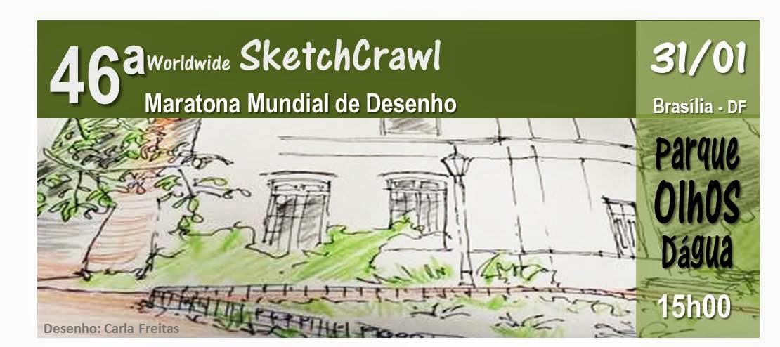 46º SketchCrawl - 31.01 - Parque Olhos D´água