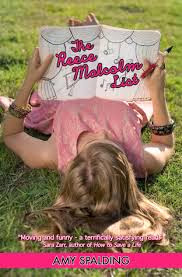 "A blonde girl rests on the grass while holding a pen and a notebook that reads ""The Reece Malcolm List"""
