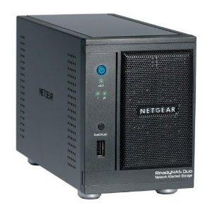Gratis Netgear RND2000-100ISS ReadyNAS Duo beim Kauf von zwei Intenso 1TB über Amazon