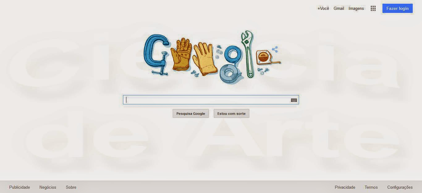 Página inicial do Google homenageia trabalhadores no dia 1º de maio