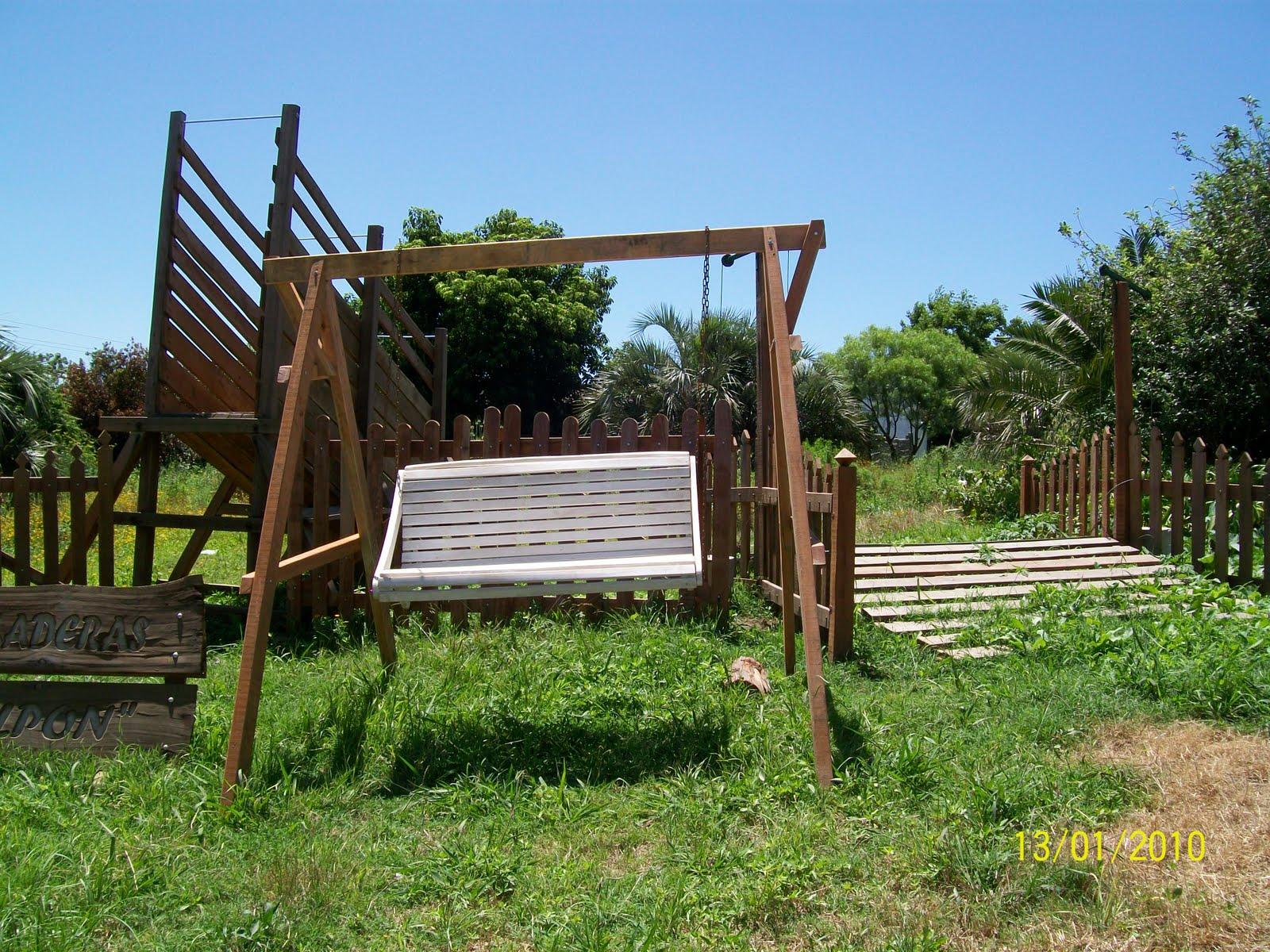Carpinteria rural agromaderas el galpon de dario garaza for Muebles de jardin uruguay