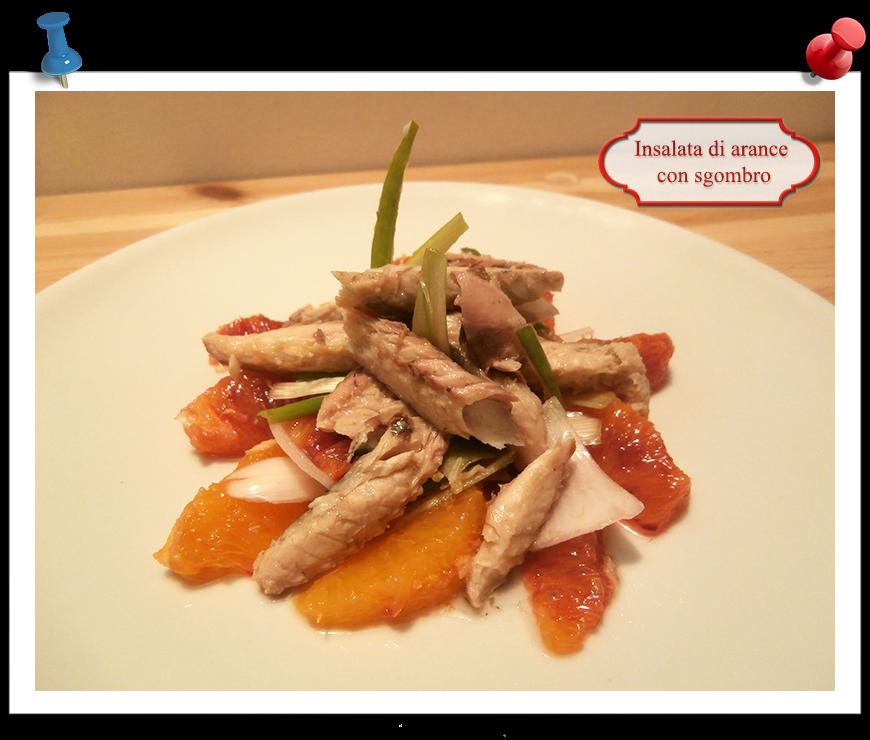 Insalata di arance con sgombro imparare l 39 arte della - Imparare l arte della cucina francese ...