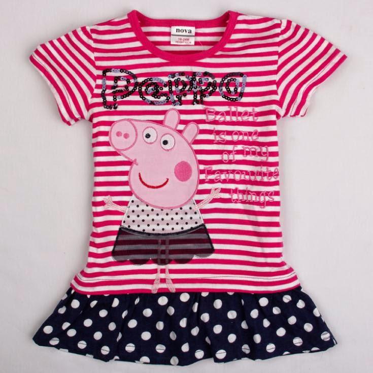 Vestidos de Algodon, Peppa Pig
