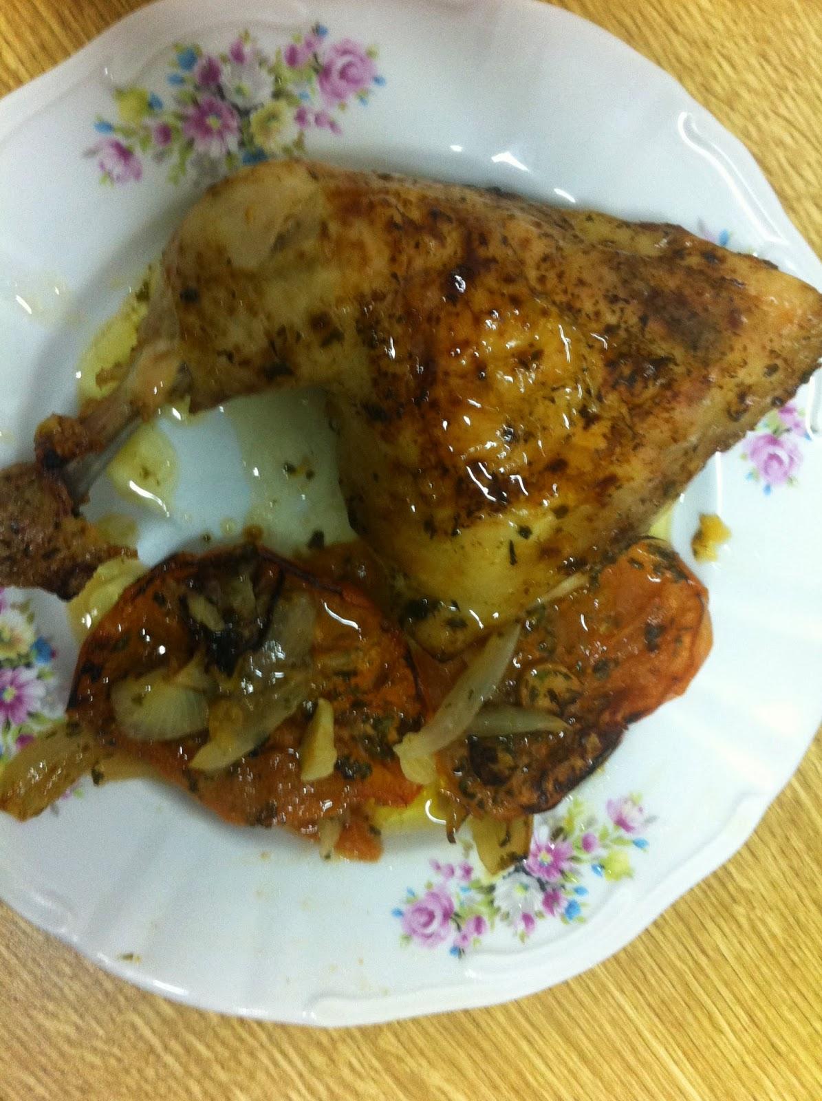 La cocina de Beli: Cuartos traseros de pollo al horno