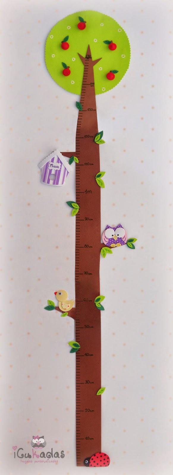 Icukadas medidor de pared infantil - Medidor de habitaciones ...