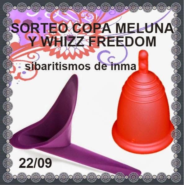 Sorteo copa Meluna y Whizz Freedom