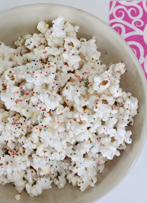 confetti party popcorn