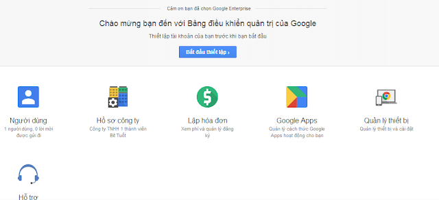 Hướng dẫn tạo email google theo tên miền web