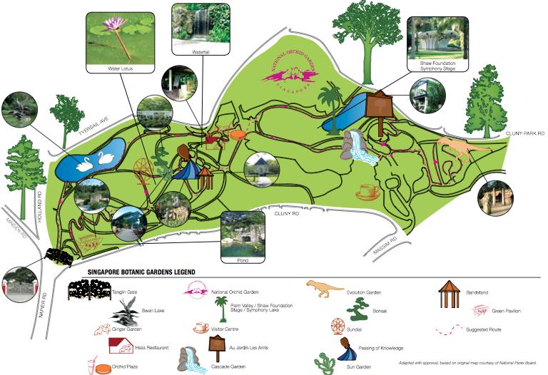 Singapore Botanic Gardens 1 Cluny Road 259569 65 6471 7361