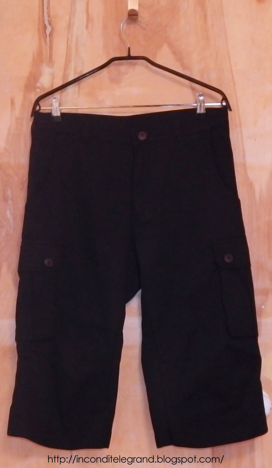 Cargo short front view