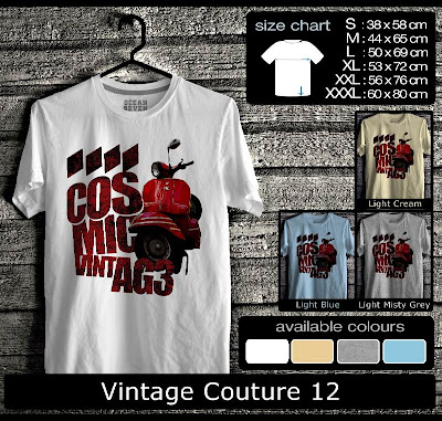 kaos distro vintage couture 12