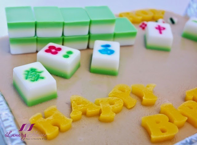 mahjong agar agar birthday cake recipe