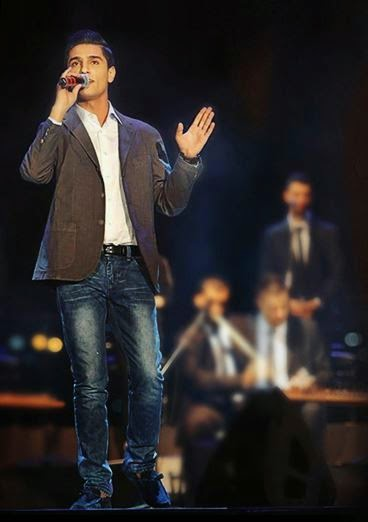 Palestino, Mohammed Assaf canta na abertura da copa FIFA 2014