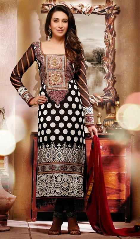 Karishma Kapoor Bollywood Dresses 2014-15