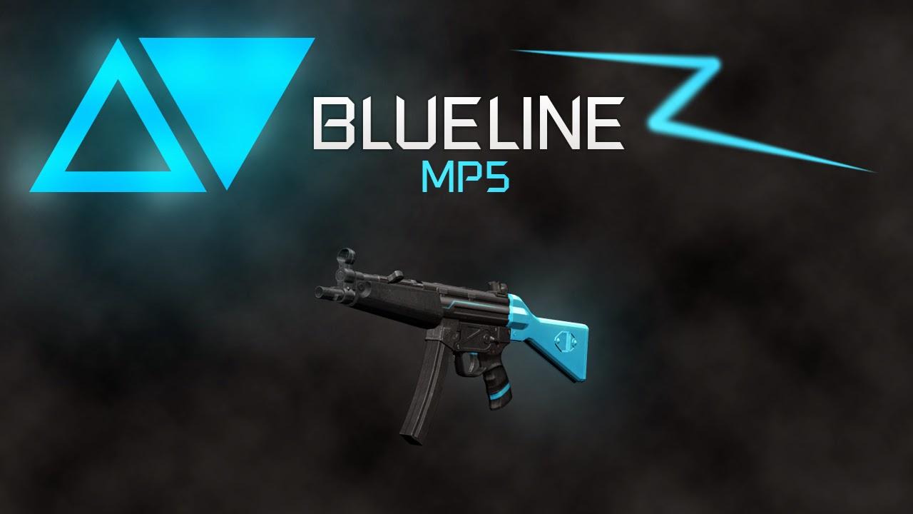 GTA SA - BLUELINE WEAPON PACK Mp5