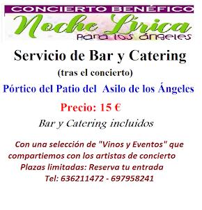 Servicio de Bar y Catering