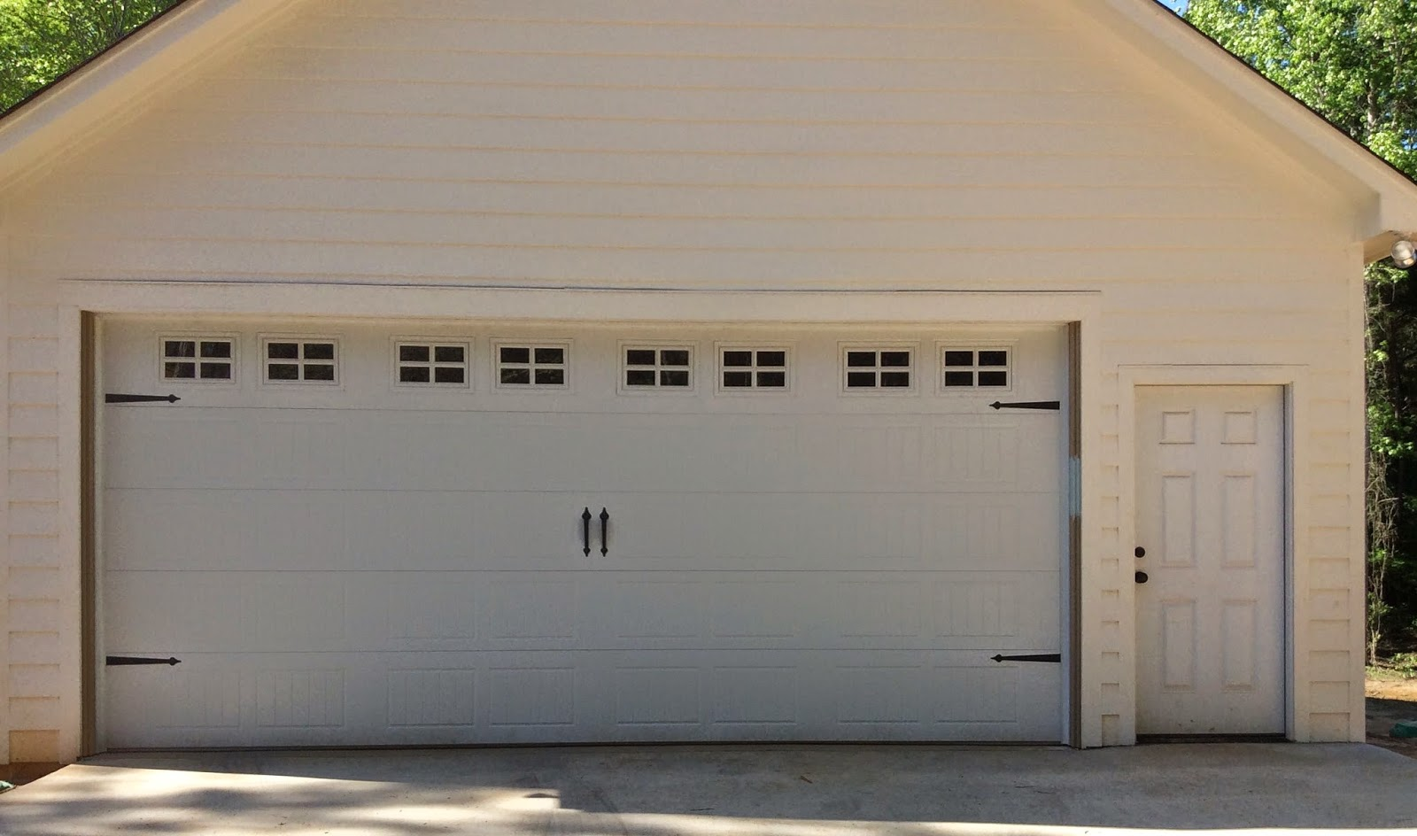 Project curb appeal garage door before and after Curb appeal doors