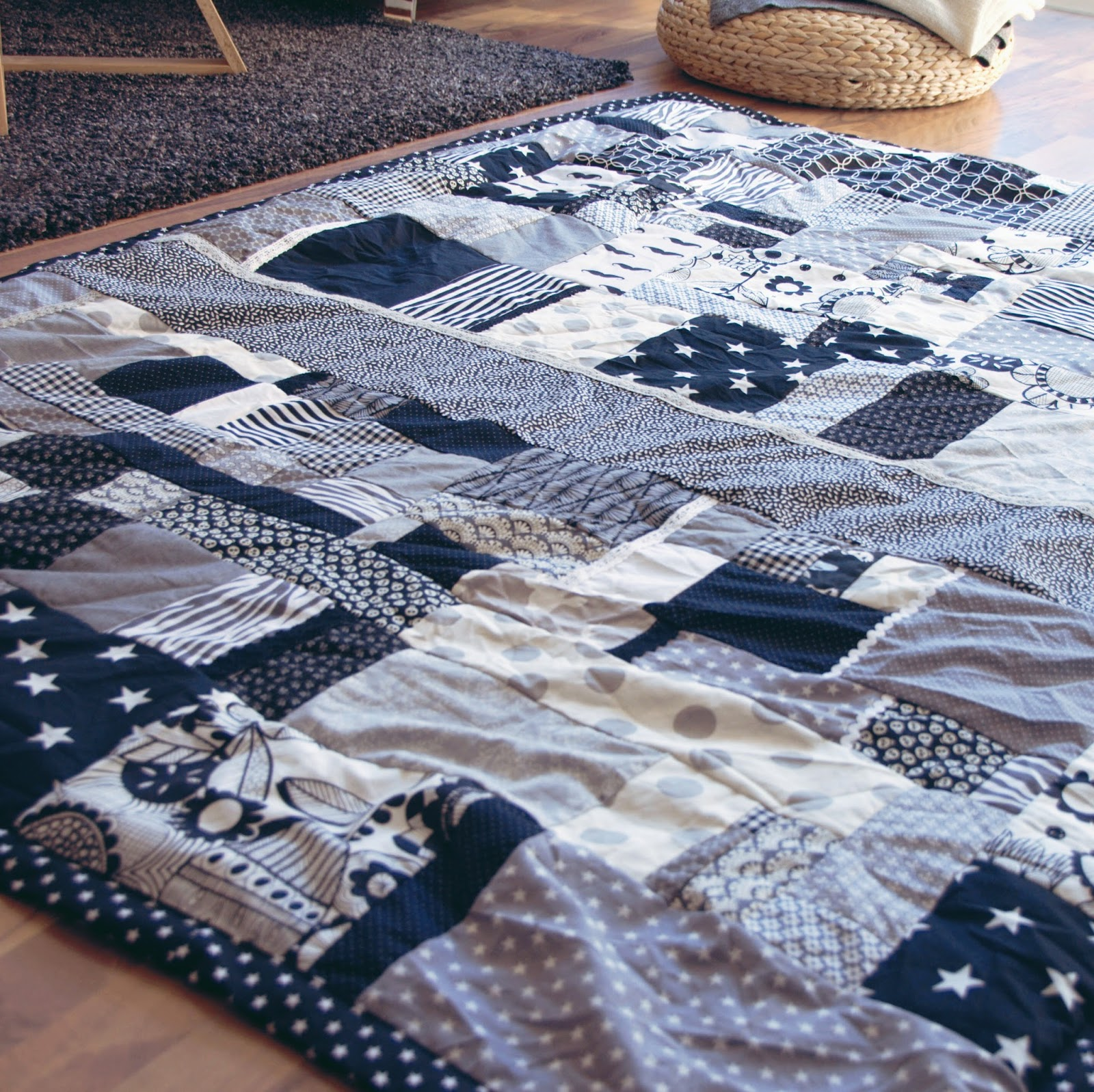 grinsesternp tchwork creadienstag grinsestern. Black Bedroom Furniture Sets. Home Design Ideas