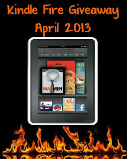 April Author/Blogger Kindle Fire Giveaway