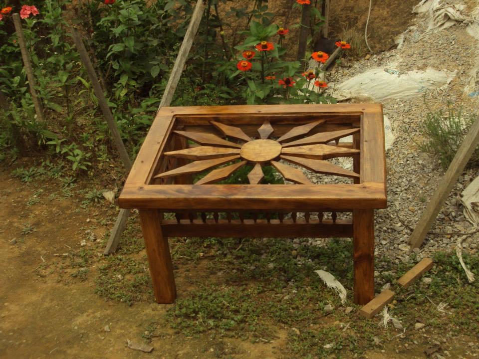 Muebles rusticos y artesanales bautistas mueble artesanal - Muebles artesanales de madera ...